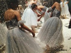 Bekka did not understand the tradition of throwing rice at the newly married couple. #BrideGoesBerserk ~~  Houston Foodlovers Book Club