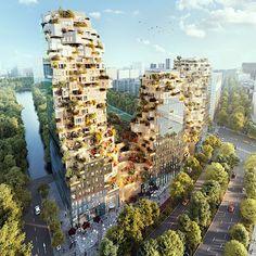 MVRDV baut ein bewachsenes Gebäude in Amsterdam Vor wenigen Wochen wurde im Business-Viertel von Amsterdam der Grundstein für ein sehr interessantes Bauprojekt gelegt. Der Gebäudekomplex Valley,...