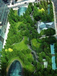 Canary Wharf London - Jubilee Gardens by Wirtz International England And Scotland, England Uk, London England, Jubilee Gardens, Kingdom Of Great Britain, Parcs, London Calling, East London, London Travel