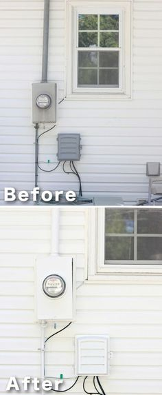 Paint Projects | DIY Before and After Curb Appeal Ideas by DIY Ready at  http://diyready.com/diy-ideas-home-improvement-on-a-budget/