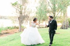 """The """"Dori"""" gown by Hayley Paige / Cypress Grove Estate House Wedding0002-3"""