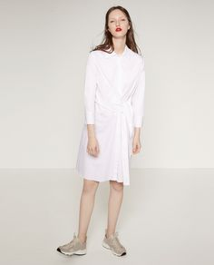 Image 1 of STUDIO KNOT DRESS from Zara