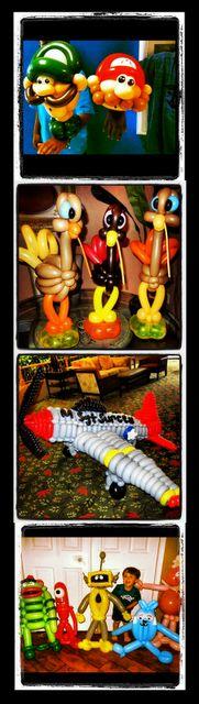 Amazing balloon artist!