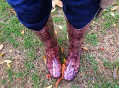 No pueden faltar cuando llueve http://www.evstylediary.com/2014/06/my-new-wellies.html