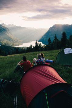 Camping con los amigos <3