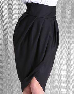 ASOSSHOP Midi Wrap Tulip Skirt - 09VMX-018