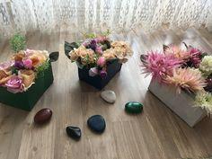 Bahçe çiçek yapımı kartondan