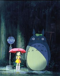 my little boy dylan and i looove watching this animated film, and we love the characters: totoro, satsuki, may, kanta, and catbus. My Neighbor Totoro