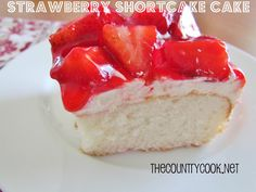 The Country Cook: Strawberry Shortcake Cake