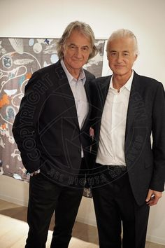 "jimmypageisperfection: "" Jimmy Page and Paul Smith photographed by Ross Halfin in Tokyo, October 7th 2014. """