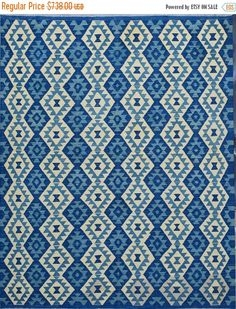 35% OFF Final sale 180 x 242 cm Stunning Handwoven Afghan