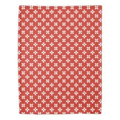 Switzerland Flag with  Heart pattern Duvet Cover - modern gifts cyo gift ideas personalize