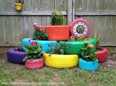 Recycled Tire Ideas | The WHOot
