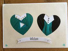 Iris folded Heart