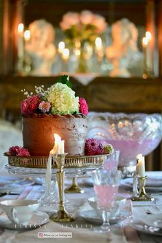 Beautiful feminine birthday tablescape decor ideas for Mom or for every day. A list of favorite table setting tips using vintage items.
