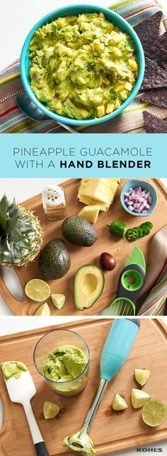 Is there anything better in summer than fresh, homemade guacamole? (We certainly can't think of anything.) Next time, use an immersion blender to cut the chopping time in half and have the creamiest guacamole ever.