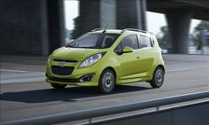 Chevrolet Spark  Combined fuel economy rating: 34 mpg
