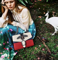 Special tokens for the festive season, featuring motifs from the Gucci Garden.