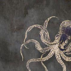 Art/Wall Decor - Ocean Wonderers IV by Leftbank Art - octopus, art