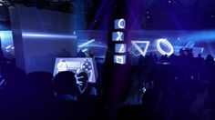 """""""This is PS4 Night,"""" by those French projection mapping rockstars, Superbien."""