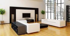 Fotos de salas de estar decoradas   DECORAÇÃO E IDEIAS - design, mobiliário, casa e jardim