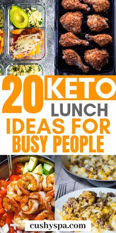 Try these keto lunch ideas for work and make your own low carb meals for the office. These are great for keto meal prep, low carb diet and any healthy diet. diet 20 Keto Lunch Ideas for Busy People Ketosis Diet, Ketogenic Diet Meal Plan, Keto Meal Plan, Diet Meal Plans, Atkins Diet, Diet Menu, Keto Diet Meals, Simple Keto Meals, Renal Diet