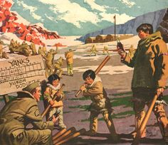 1943 CocaCola print ad WWII Soldier in Alaska playing by Vividiom, $9.00