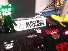 Kitronik's electro fashion, wearable electronics and LED accessories (kitronik.co.uk). Maker Faire 2014, Centre For Life, Newcastle #makerfaireuk