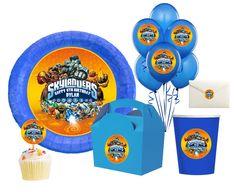 SKYLANDERS Printable Birthday party favors,hershey kisses,goodie bags,envelope seals,balloons,cupcake toppers,centerpiece,stickers-Digital. $6.00, via Etsy.