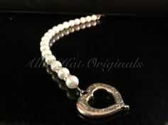 Beautiful Crystazzi pearl and Swarovski element bracelet. On Etsy https://www.etsy.com/your/listings?ref=si_your_shop