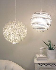 Update standard rice paper lantern