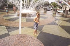 Waterfront Park | Charleston Parks Conservancy - play in the fountains