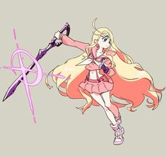 Ryoko x the most deadly anime blonde in the universe Kill La Kill Cosplay, Nui Kill La Kill, Manga Anime, Anime Art, Character Art, Character Design, Dibujos Anime Chibi, Anime Warrior, I Love Anime