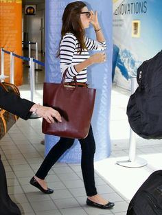 Travel uniform, giant tote(Miranda Kerr Airport Style)