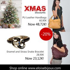 Xmas Ideas: handbags, bracelet