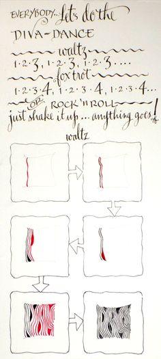 Waltz #zentangle Zentangle Newsletter