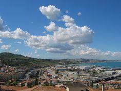 Ancona, Marche, Italy - Clouds 3- by Gianni Del Bufalo