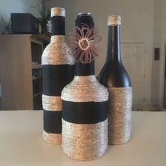 Set de 3 botellas individualmente por GraciesCustomDesigns en Etsy
