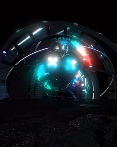 Cyberpunk Aesthetic, Cyberpunk Art, Tron Art, Green Background Video, Futuristic Robot, Motion Images, Game Logo Design, 3d Video, Chroma Key