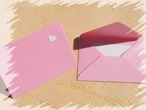 Umschläge 10er Set in rosa