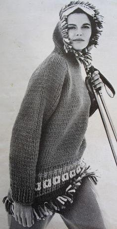 Vogue knitting book 1960's