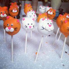 cat cake pops #CatsSayCheese