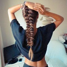 weekend braided inspiration #hairdreams_