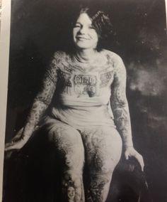 I love this photo of Lady Viola (Ethel Vangi).
