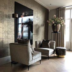 Chic Living Room, Home Living Room, Living Room Designs, Living Room Decor, Living Room Inspiration, Home Decor Inspiration, Happy New Home, Piece A Vivre, Beautiful Interiors