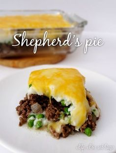 Life, Love and Sugar: Shepherds Pie recipe