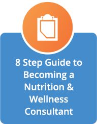 8 Step Guide to Becoming a Nutrition & Wellness Consultant #afpafitness