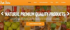 Fresh Fruits and Vegetables Responsive Joomla Templates
