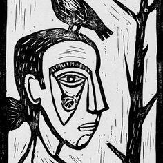 Artiste contemporain mariab - Gravure