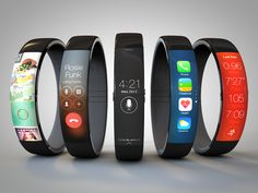 iClarified - Apple News - New iWatch Concept Features Nike Fuelband Form Factor, iOS 7 Design Elements [Video]